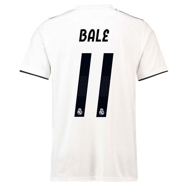 6f87ebfe7afa2 Comprar camiseta de real madrid bale 2018-19 1ª replica