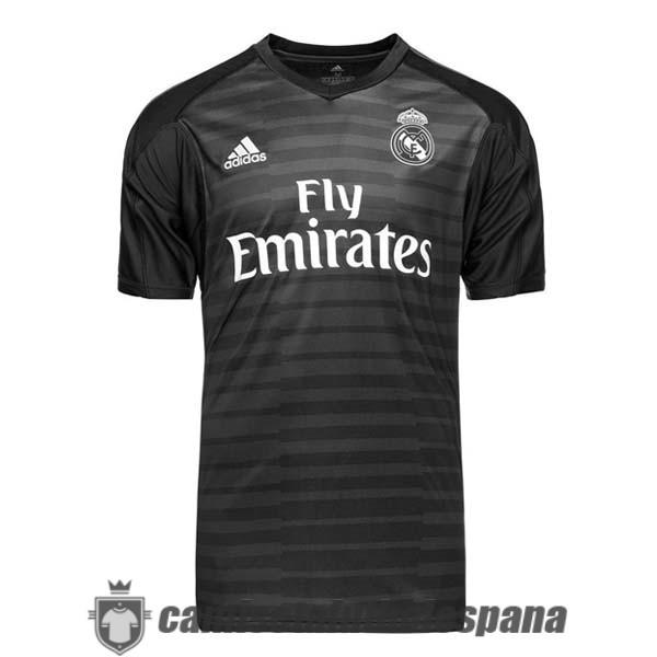 Comprar camiseta de real madrid portero 2018-19 negro replica
